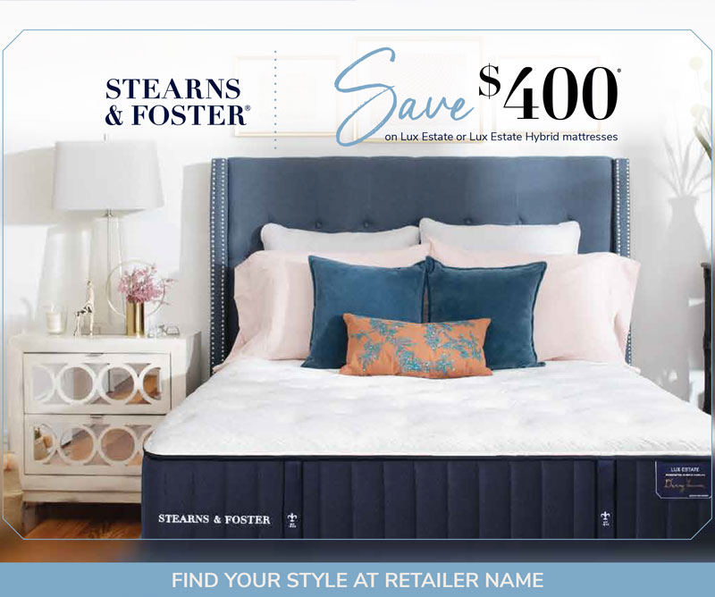 Stearns & Foster Promotion